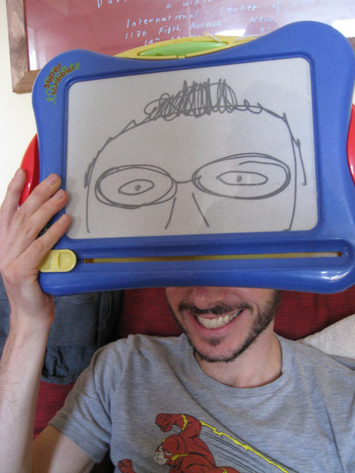 Etch-a-sketch head