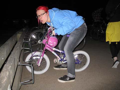 Deb's bike