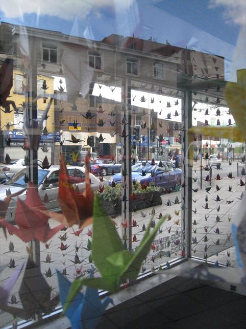Window origami