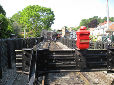Pickering, end of the line