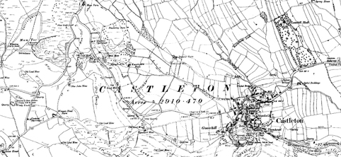 Ordnance survey map 1899