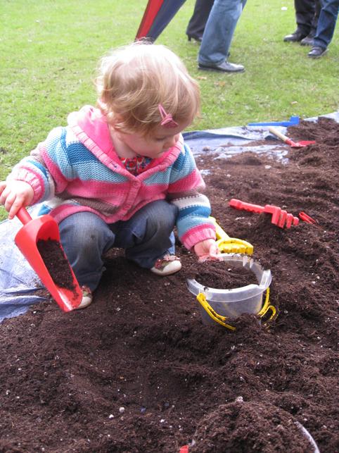 Soil castle
