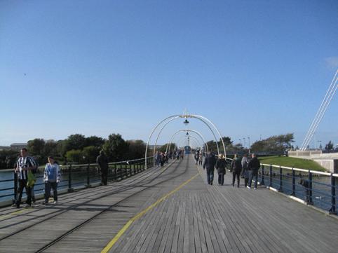 Start of the pier