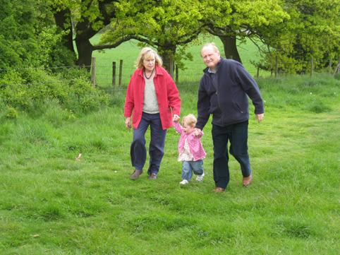 Walking the grandparents