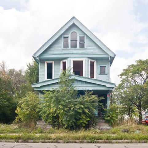 Blue house 1