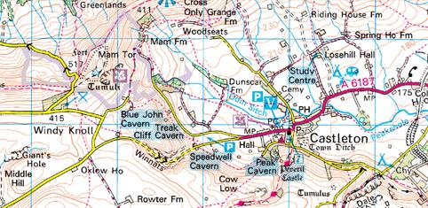 Ordnance survey map 2010