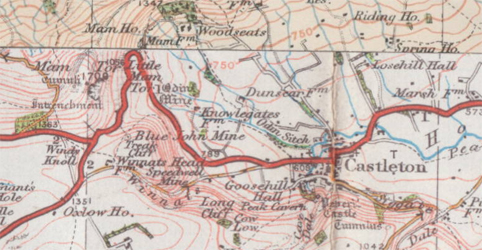 Ordnance survey map c1930