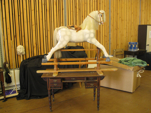 Ride the white horse