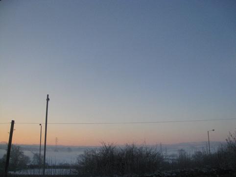 Xmas moring sunrise