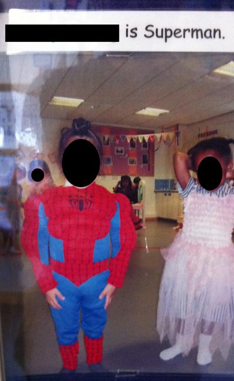 Super spiderman cut - for blog