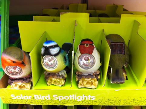 Solar birds