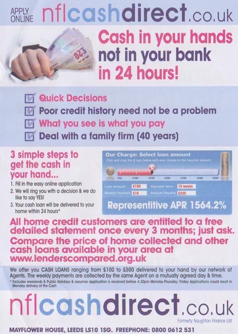 Loan fail